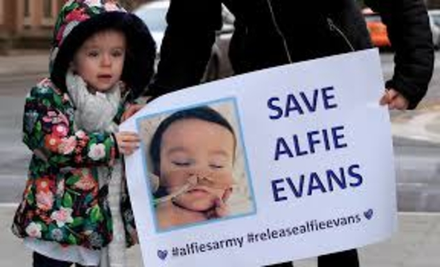Alfie Evans : une terrible offensive de la culture de mort