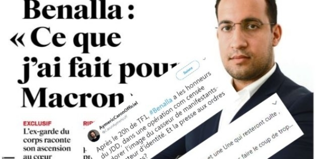 Benalla au service de la communication de Macron