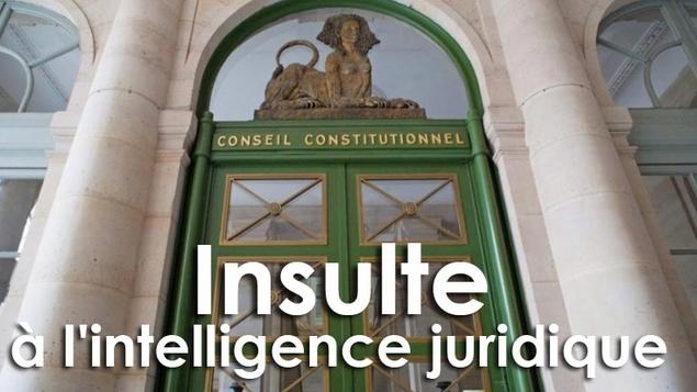 Clause de conscience des maires : le Conseil constitutionnel insulte l'intelligence juridique