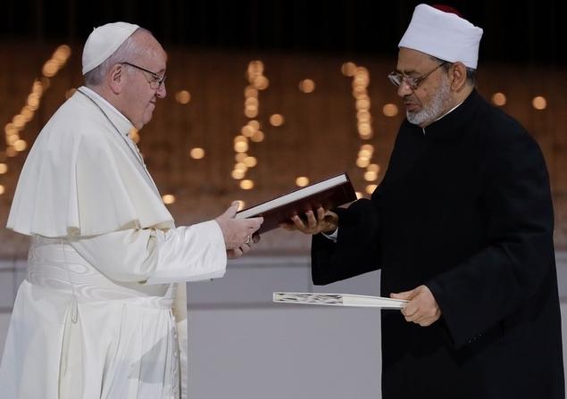 Analyse critique du Document d'Abou Dhabi signé par le pape François et l'imam Al-Tayeb d'Al-Azhar