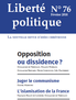 Opposition ou dissidence ?
