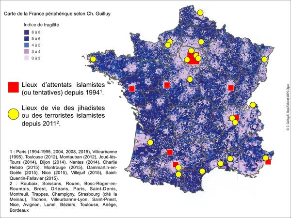 Ville En France Ou Il A Des Terroristes